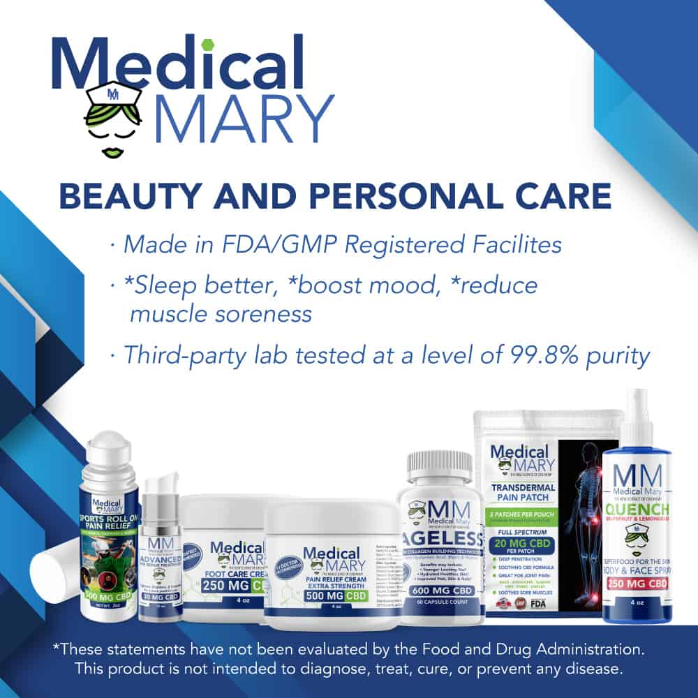 Medical Mary Beauty and Personal Care Best CBD Information