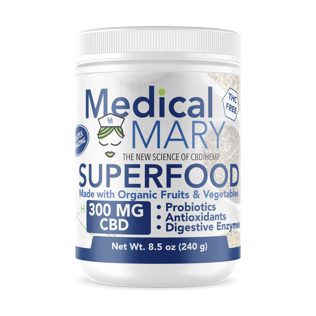 Medical Mary Drinks Best CBD Organic Fruits and Vegetables