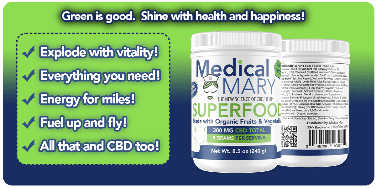 Green Superfood Powder Private Label